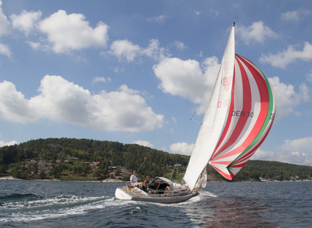 Planing with cruising yachts - and a radical performer