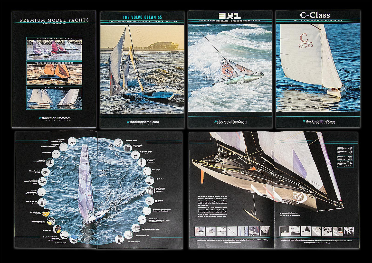Market Leader in model yachts