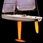 TP52 Carbon RC model yacht