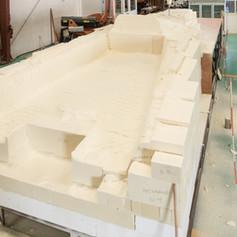 milled deck block