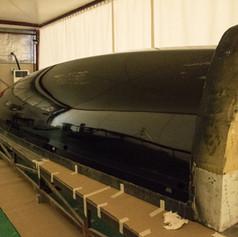 Polished hull