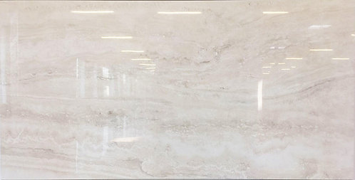 bello travertine navona bianco in a polished finish will add sophistication to your interior design