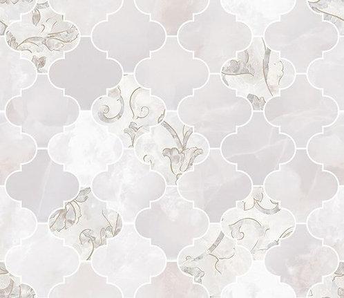 Versace Onice Bianco Mosaico Arabescato