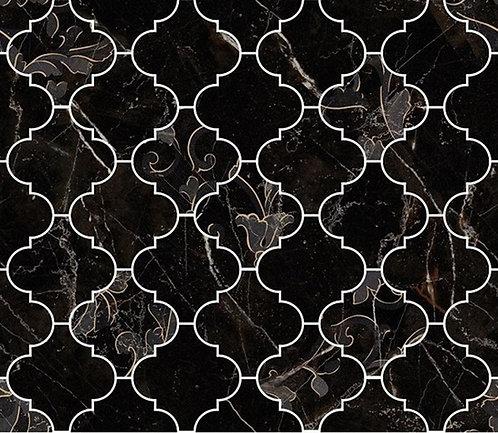 Versace Nero Amasanta Mosaico Arabescato