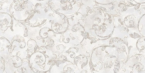 Versace Onice Bianco Decoro Floreale