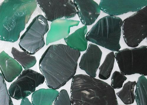 Semi-Precious Onyx Green Irregular