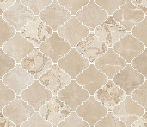 Versace Crema Marfil Mosaico Arabesque