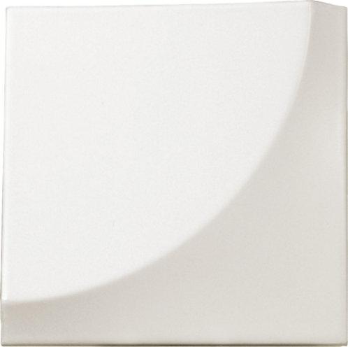 Quarter Circle White