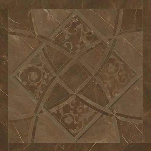 Versace Pulpis Marrone Fondo Intarsio