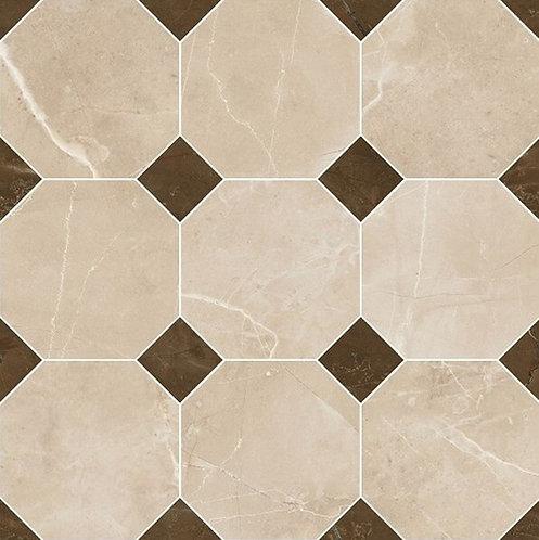 Versace Crema Marfil Mosaico Ottagona