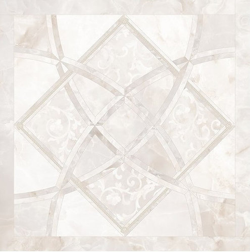 Versace Onice Bianco Fondo Intarsio