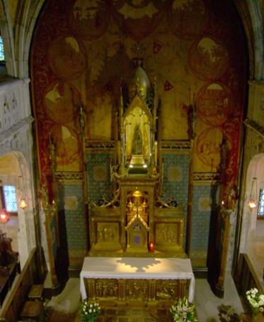 Réhabilitation de l'intérieur de la chapelle Notre Dame de Rocamadour