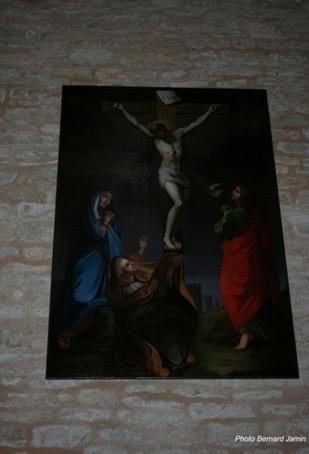 Restauration du tableau de l'église de Mayrinhac le Francal