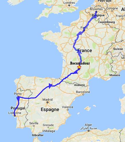 carte-trace-bruxelles-lisbonne-rocamadou