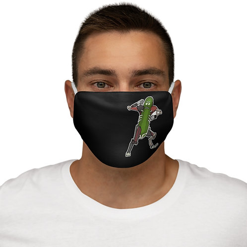 Snug-Fit Polyester Face Mask - Rick AND Morty - Pickled Rick - Masque