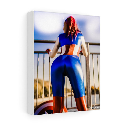 Captain America Cosplay Canvas - Toile Décorative Cosplay Capitaine america