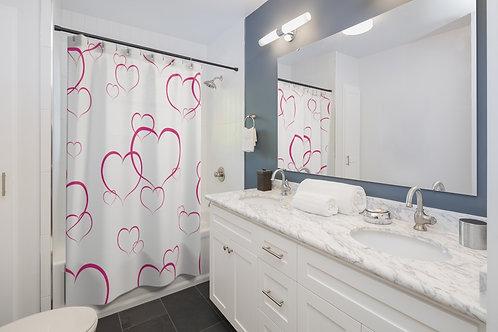 Shower Curtains - Heart - Coeur - Rideau de douche