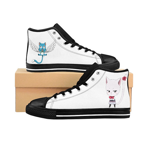 Women's High-top Sneakers - Fairy Tail happy/ Carla - Chaussure pour Femmes