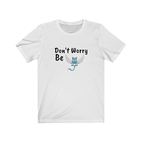 Unisex Short Sleeve Tee - Fairy Tail Happy - Manche Courte
