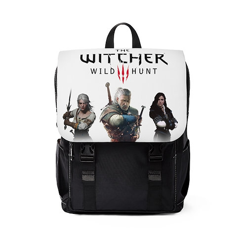 Unisex Casual Shoulder Backpack - Witcher wildhunt - Sac a dos