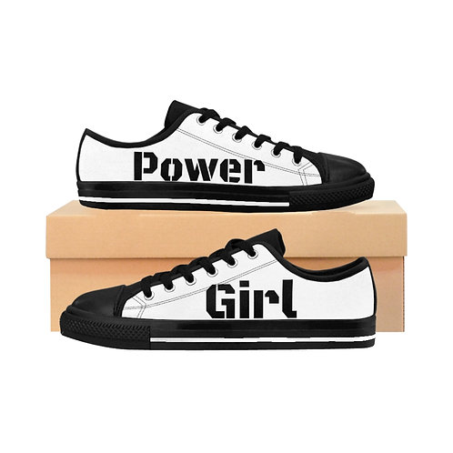 Women's Girl Power Sneakers - Souliers Sportif Pouvoir aux Femmes