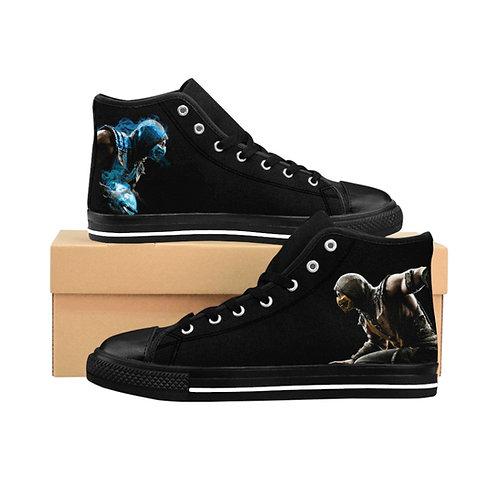 Men's High-top Sneakers - Mortal Kombat - Souliers D'extérieur Homme