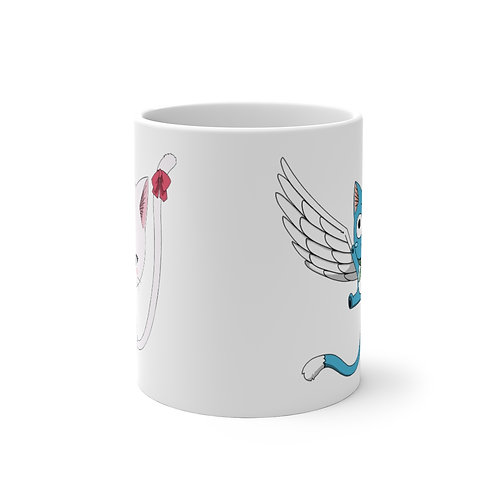 Color Changing Mug - Fairy Tail Happy/Carla - Tasse couleur Changeante
