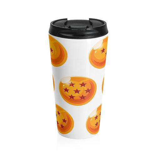 Stainless Steel Travel Mug - Dragon Balls - Tasse de transport