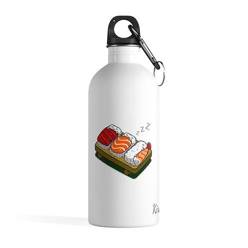 Stainless -Water Bottle Sleeping sushi - Bouteille d'eau - Sushi qui font dodo