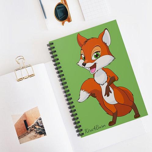 Spiral Notebook - Ruled Line - Fox - Renard - Cahier de notes