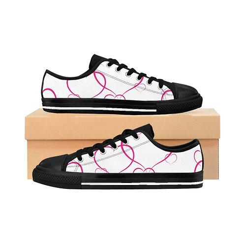Women's Sneakers - Heart - coeur - Chaussures Femmes
