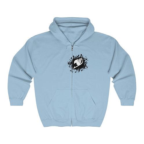 Unisex Heavy Blend Hooded Vest - Fairy Tail - Cotton ouatté avec Zipper
