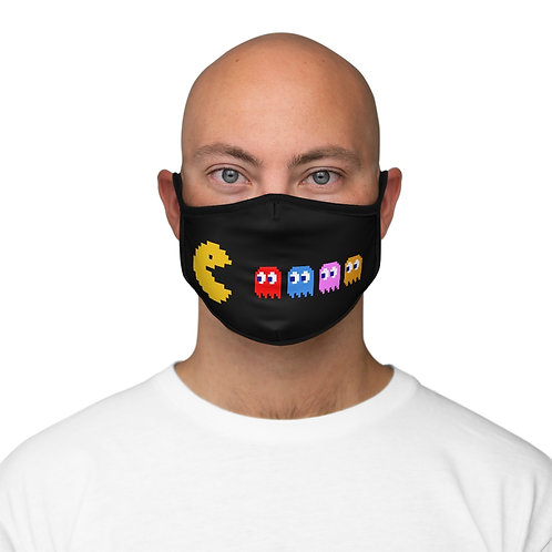 Fitted Polyester Face Mask - PACMAN - Masque