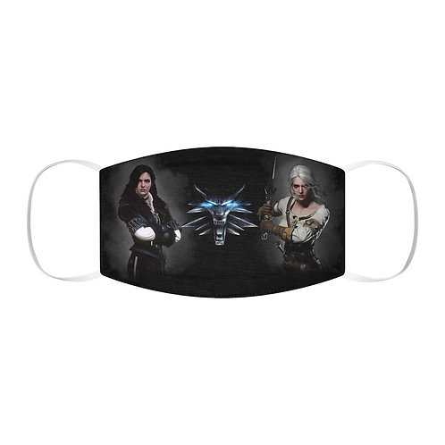 Snug-Fit Polyester Face Mask - WITCHER - Masque