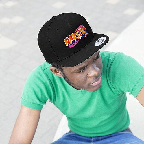 Unisex Flat Bill Hat - Naruto - Casquette