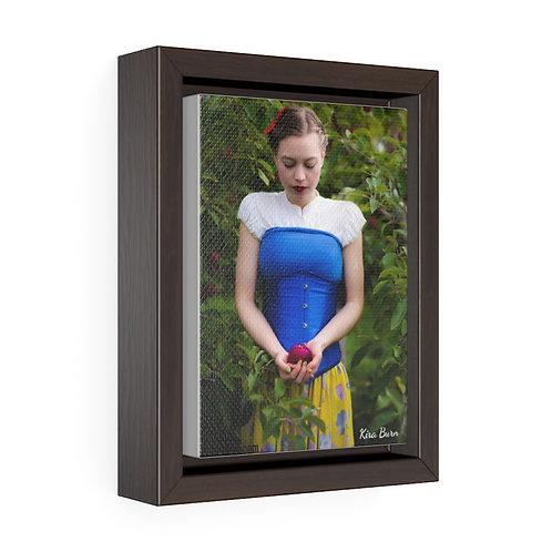 Vertical Canvas Snow White - Toile Verticale Balnche Neige