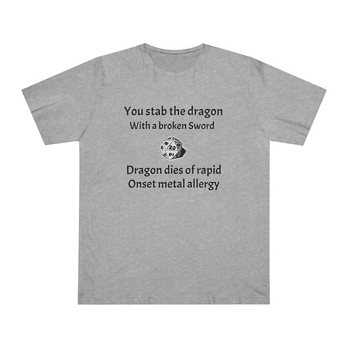 Unisex Deluxe T-shirt - DnD Funny T-Shirt