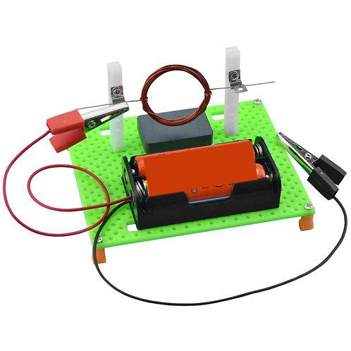 Experimento Modelo De Motor Eléctrico