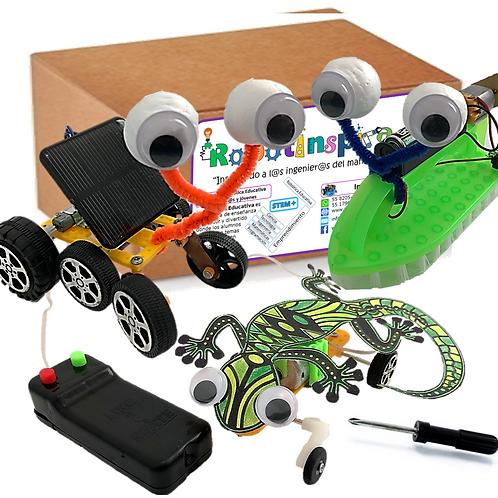 Kit de 3 Proyectos Educativos STEAM No.3