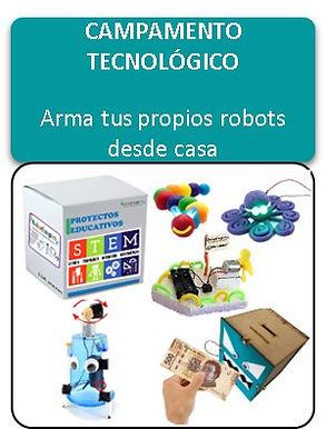 CAMPAMENTO TECNOLÓGICO - 4 a 13 años