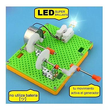 Generador Eléctrico LED