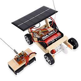 Carro Solar a Control Remoto Inalámbrico