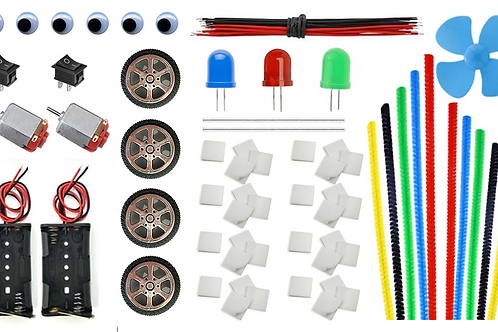 Kit Maker No.2 - Materiales para proyectos STEAM