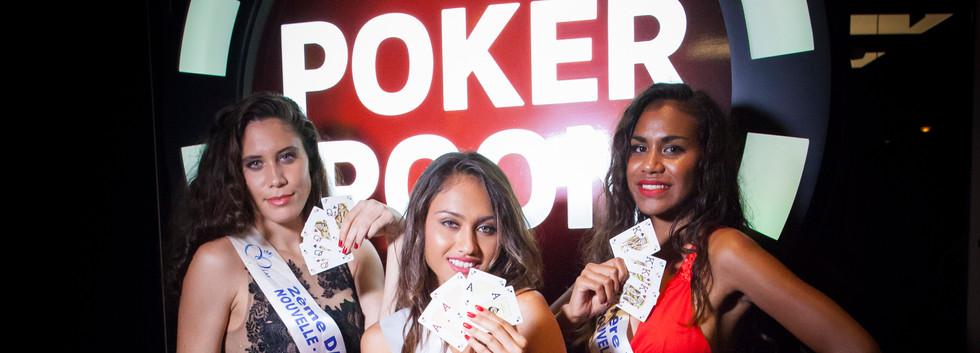Miss New Caledonia & poker