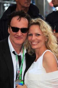 Quentin Tarantino et Cissia Schipper