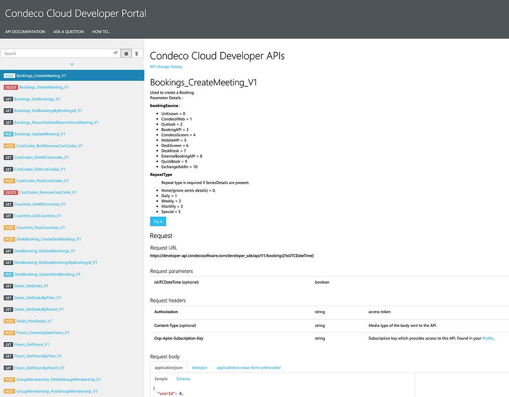 Condeco Developers Portal, Comunication edge