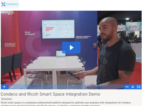 Ricoh Smart Spaces a powerful vision of the connected workplace