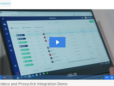 Condeco Proxyclick Integration