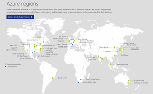 azure microsoft global infrastructure location, communication edge