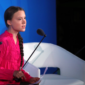 16 year old girl lashes out World Leaders at UN CLIMATE SUMMIT. HOW DARE YOU? GRETA THUNBERG